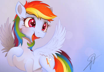 hwcon print #3 Rainbow dash