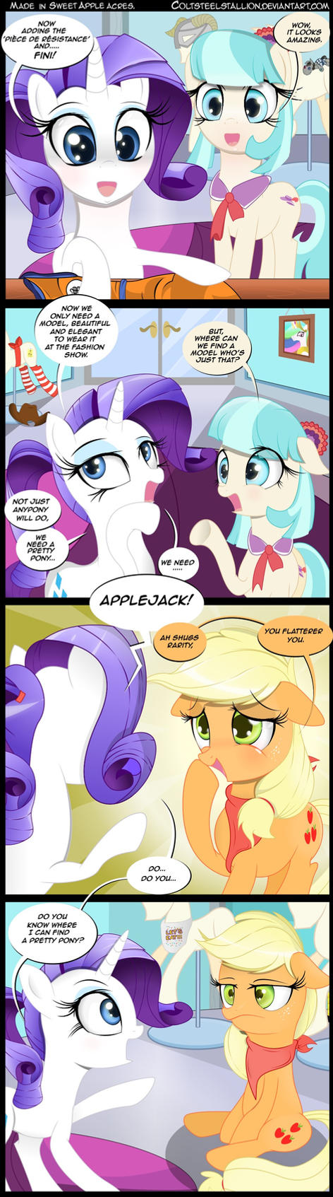 made in Sweet Apple Acres. by Coltsteelstallion