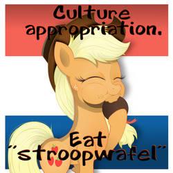 appropriating Dutch culture.