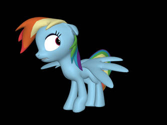 Scared Rainbow Dash SFM by PrincessAppYT