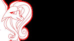 fluttershy sketch - remake by PrincessAppYT