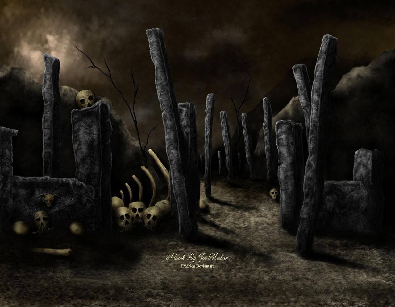 Entrance To Hades : Entrance to the underworld by jpmneg on deviantart