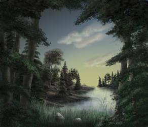 Landscape Scene by JPMNeg