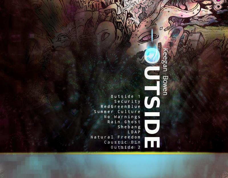 Outside Album Cover by trance-de-anima