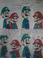 Luigi's A Genius! by MC-Ash-Tray