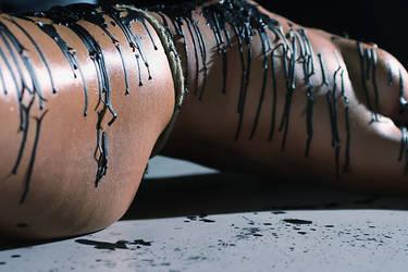 Striped in Wax by dragoninlondon