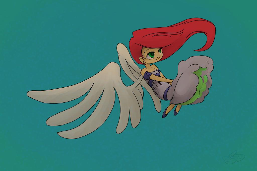Falling Angel by Hitoritsuki