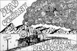 Dead and Company LA Forum Concert Poster