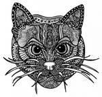 Zentangle Cat