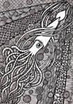 Zentangle Squid