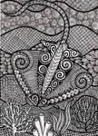 Zentangle Stingray