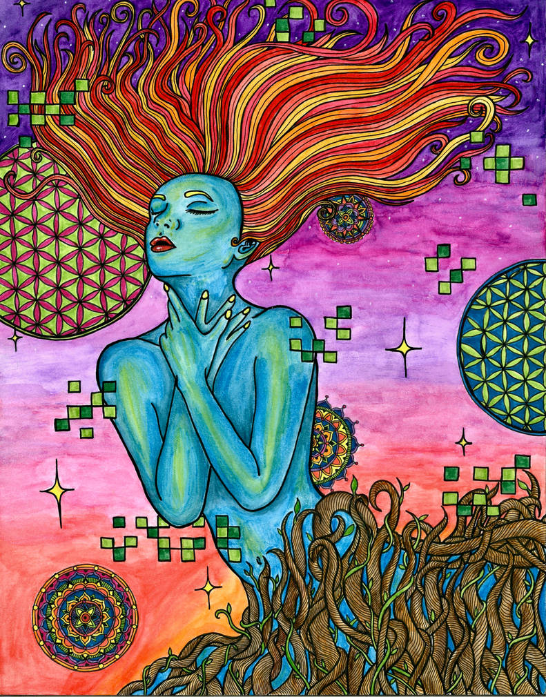 Transcendence by ambercamiart