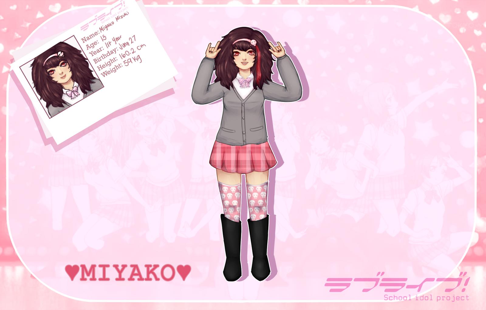 [S-I-P] MIYAKO by pekingchicken