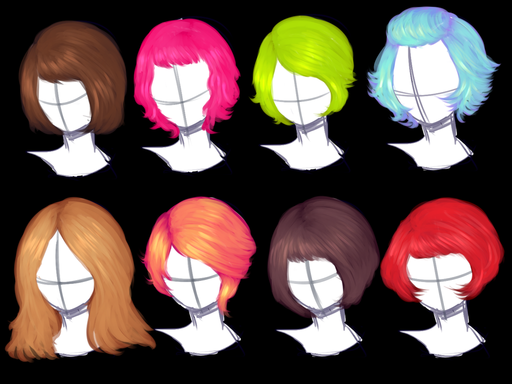 Hair Studies by pekingchicken