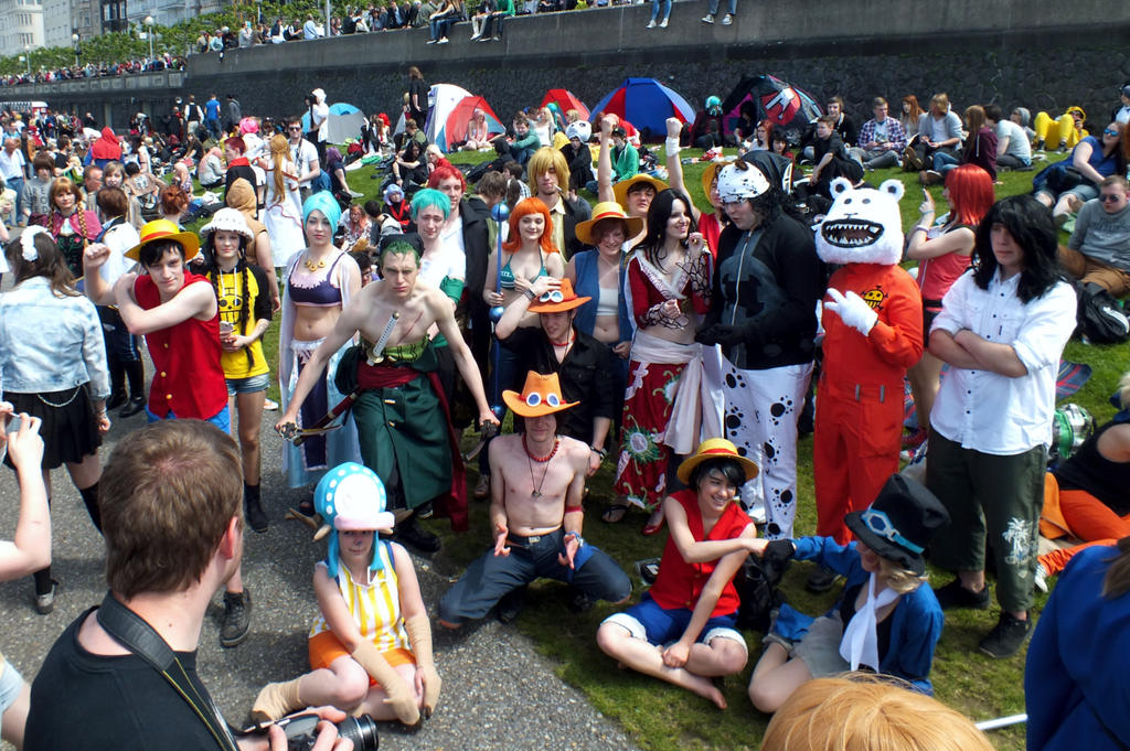 Japantag 2014 One Piece Group by GonFreaks87