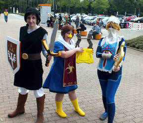 Dokomi 2015 Zelda Group by GonFreaks87