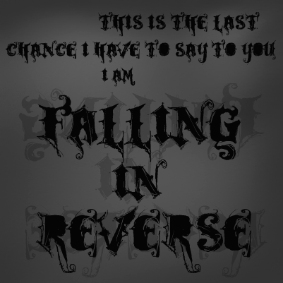 Falling In Reverse Lyric Drawings