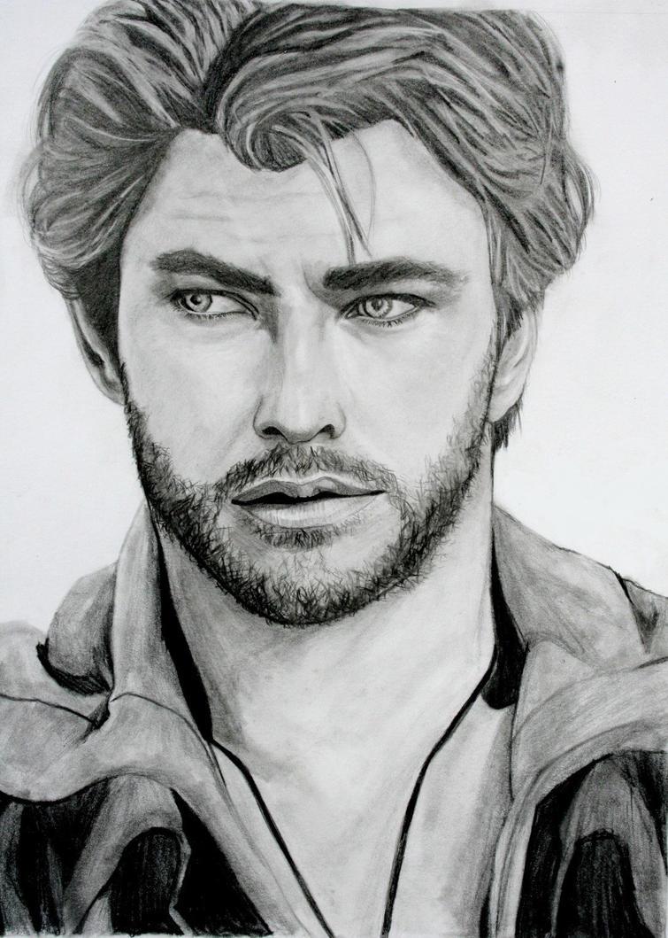 Chris Hemsworth by MercurialPixies