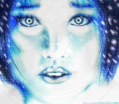 Cortana Sketch by Autumn-Angeline