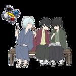 Gintama render by Yumerealm