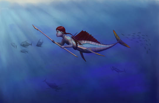 Pelagic Mermaid