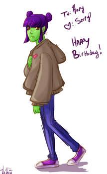 Happy Birthday Hapy!