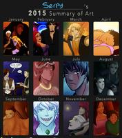 2015 Summary of Art by HeSerpenty