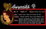 Gwynn Bio by HeSerpenty