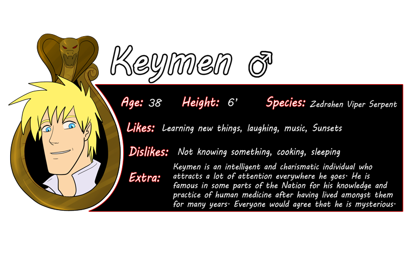 Keymen Bio by HeSerpenty