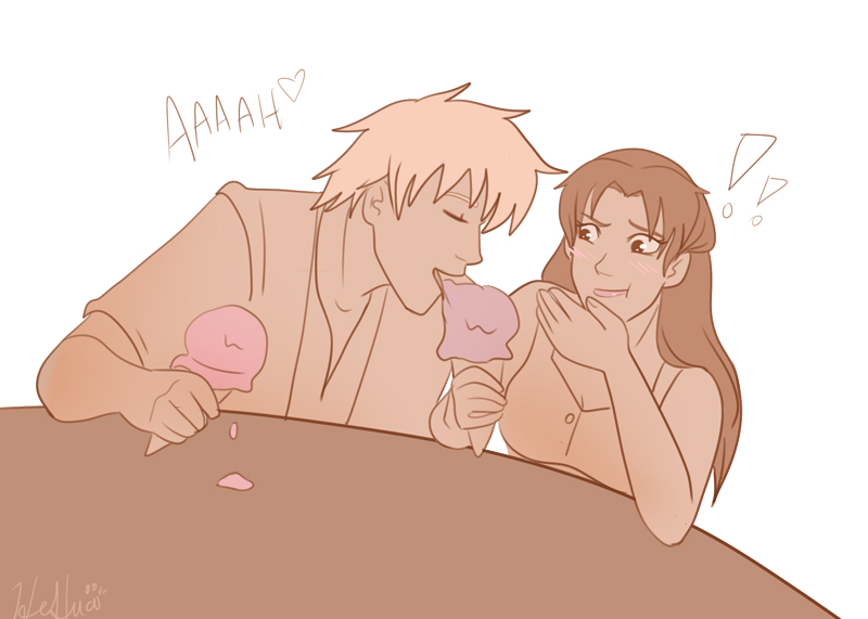 OTP 30 Day Challenge.::Day 13::.Eating Ice Ceam by HeSerpenty