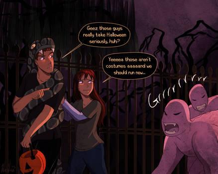 Halloween Exchange: Every Bad Thing