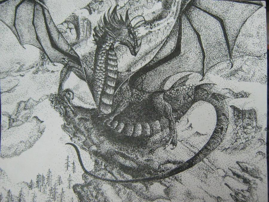 Elliot The Dragon by MsBananaNanner