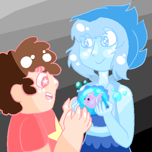 Lapis And Steven by CakeMonster44