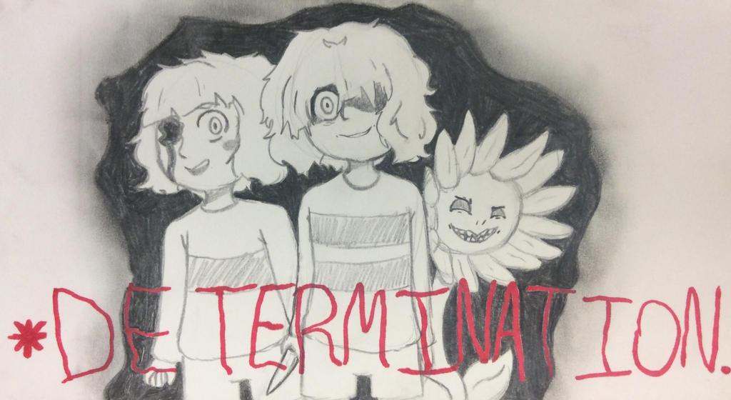 DETERMINATION by CakeMonster44