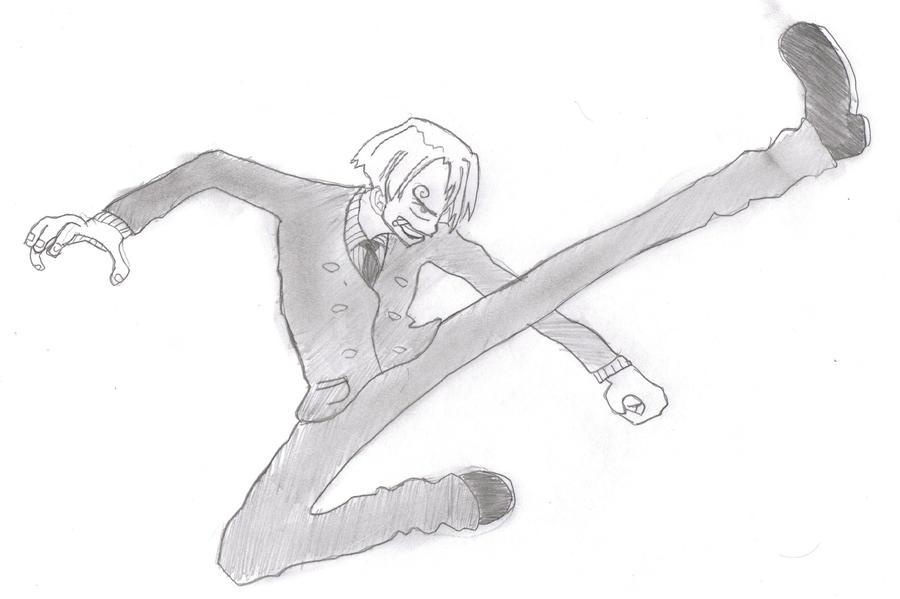 One Piece Sanji by