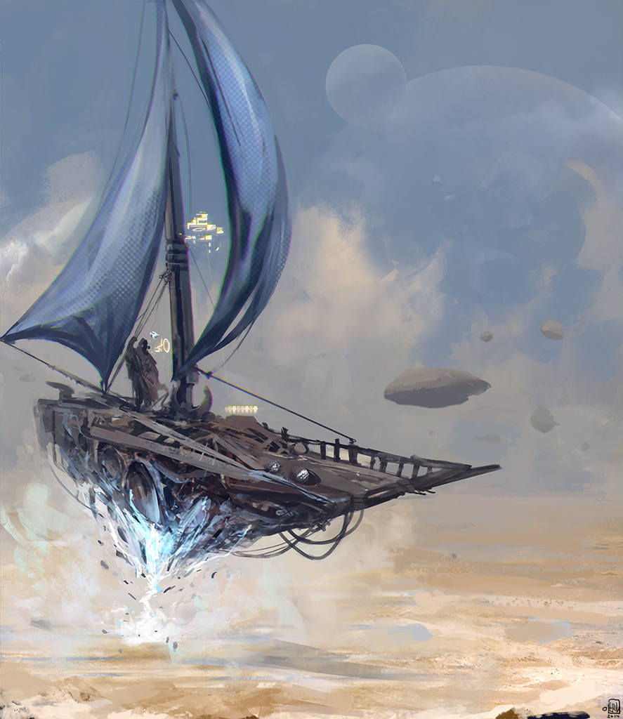 sail ship by teezec on deviantart