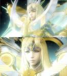 FF VII CC Minerva Goddess