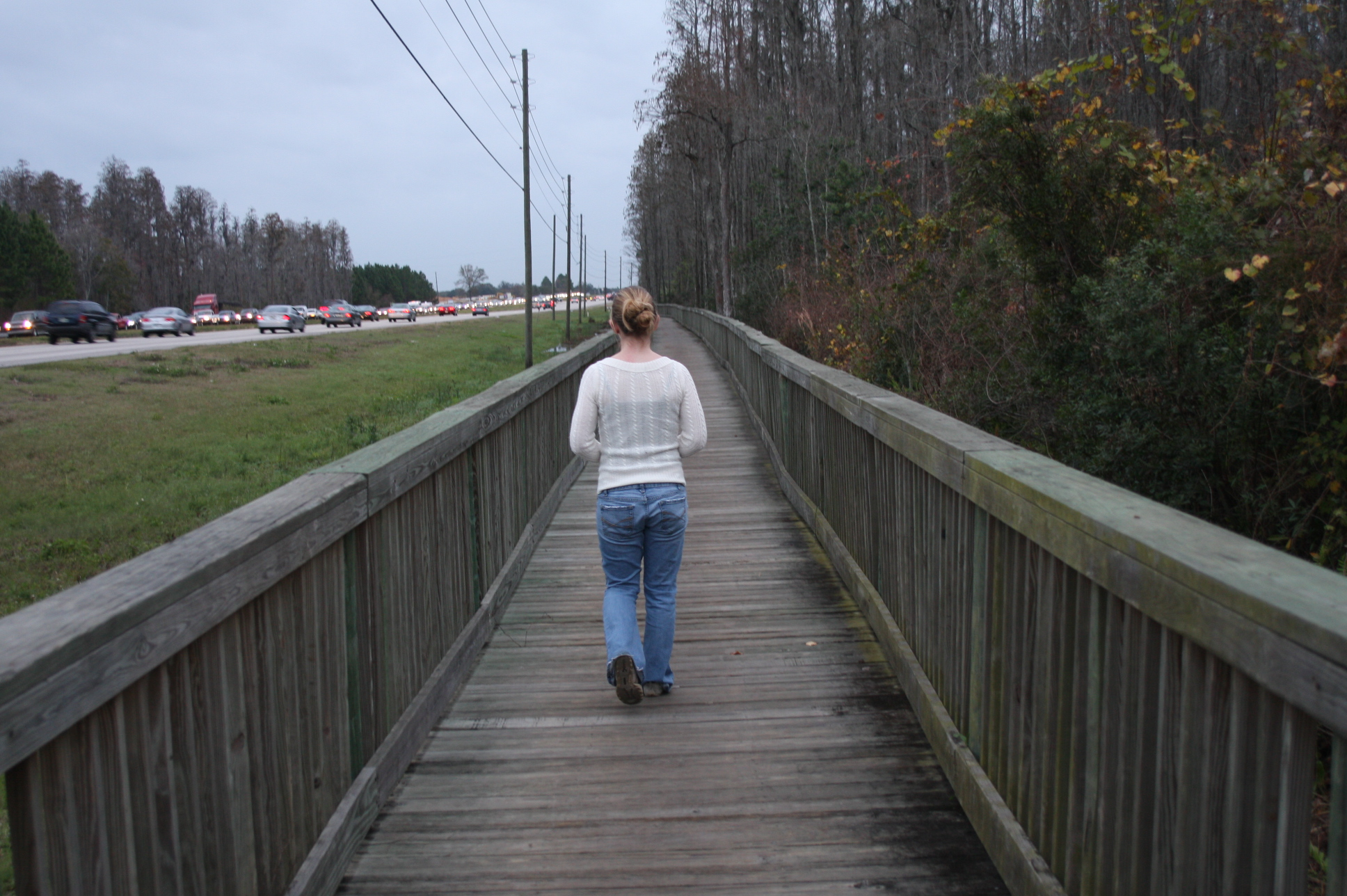 Girl Walking Away by greendaygurlstock