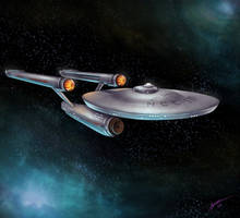 NCC-1701 by senseibushido