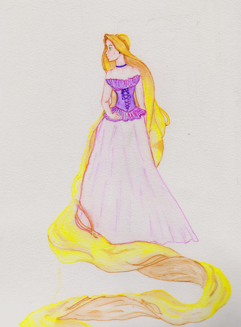 Amen Fashion- Rapunzel by fireburner543