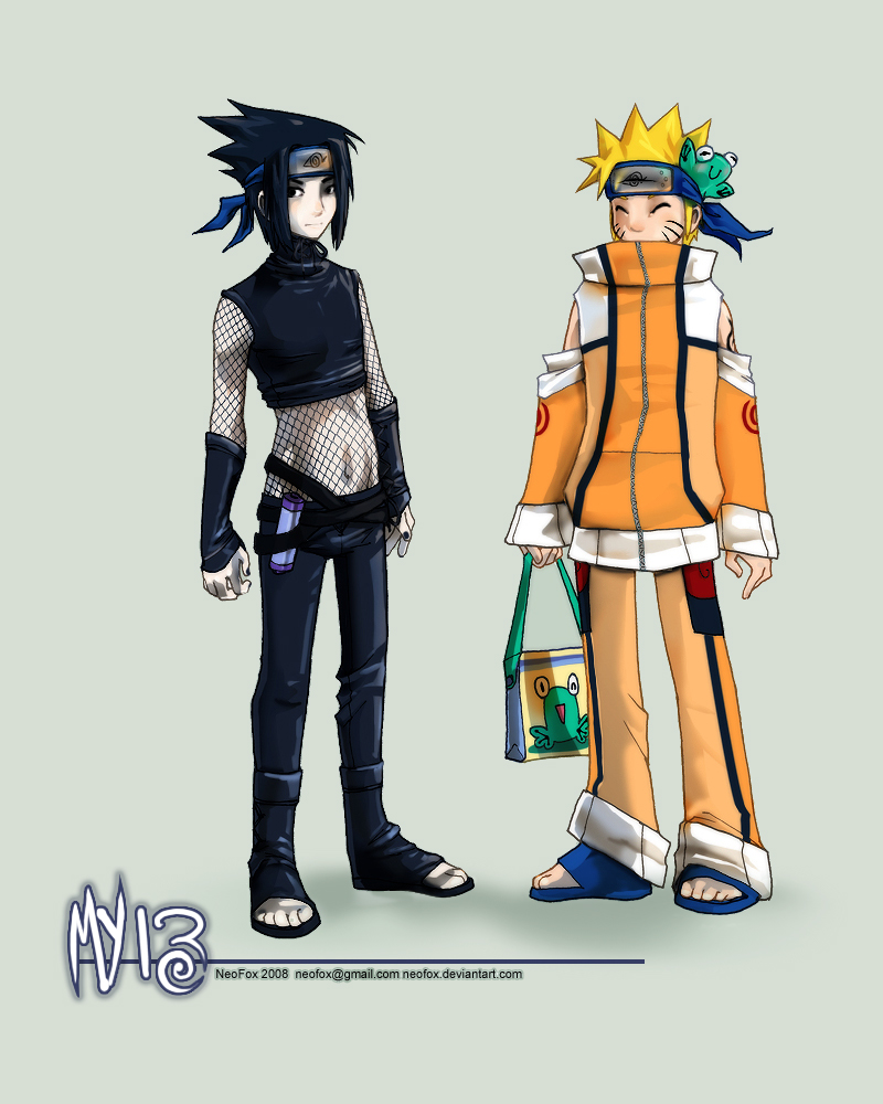 My 13 outfits - Naruto by neofox on DeviantArt
