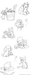 Naruto fluffy muffins by neofox