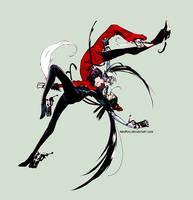 Friendly enemies - Bayonetta by neofox
