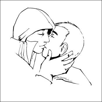 Soft kiss - AlexDesu by neofox