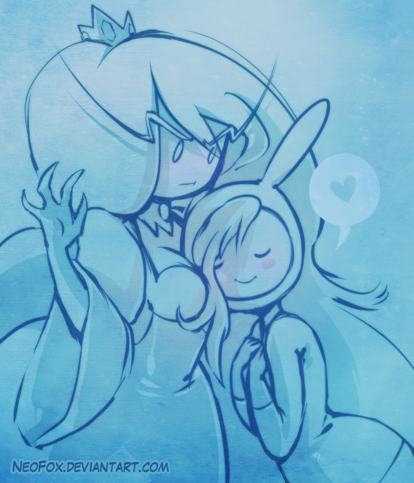 Cold hands warm heart - AdventureTime by neofox