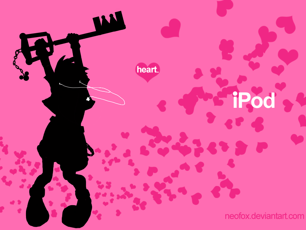 iPod - KingdomHearts by neofox