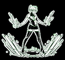 YCH: Green Diamond