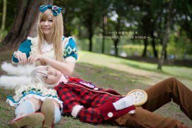 Peter X Alice by kikyoxy