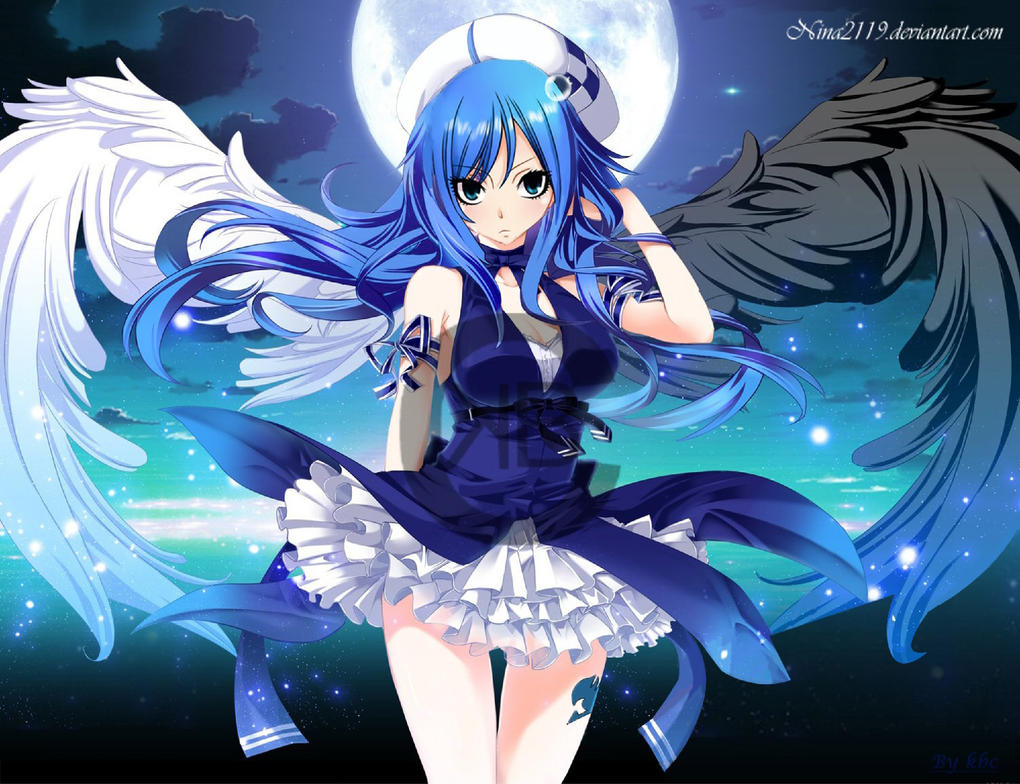 juvia ange demon by nina2119 on deviantart