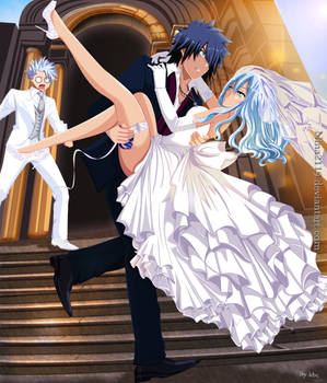 Gray, Juvia and Lyon Wedding